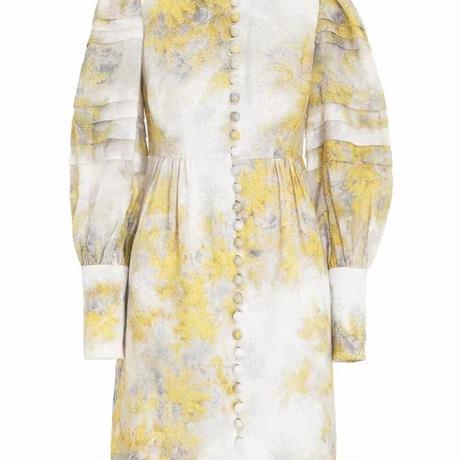 zimmermann ジマーマン     BOTANICA WATTLE MINI DRESS  定価$798