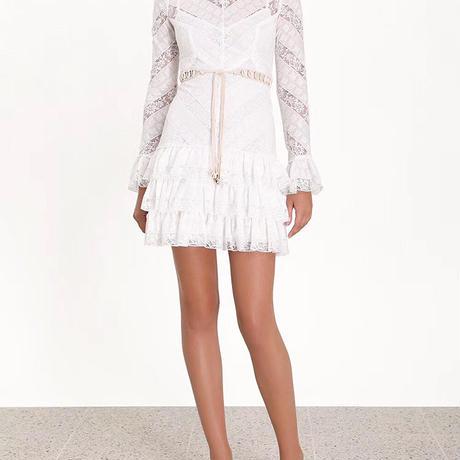zimmermann ジマーマンlace panel tiered dress  ワンピース$1527