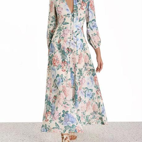 zimmermann ジマーマンFloral Verity Maxi Dress  ワンピース$950