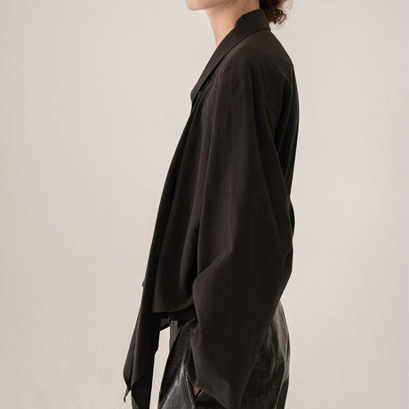 Lemaire ルメール Knotted cotton crepe blouse ブラウス  定価$580