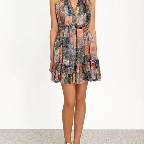 zimmermann ジマーマン NINETY-SIX SMOCK SHORT DRESS  ワンピース$595