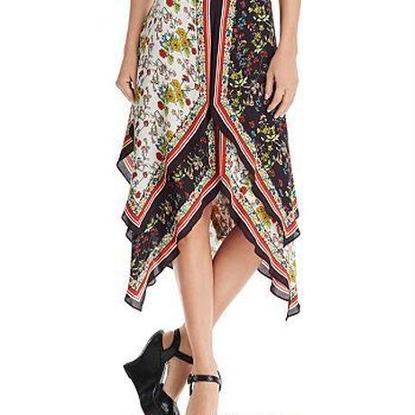 Alice+Olivia  Maura Tiered Handkerchief Skirt スカート定価$503