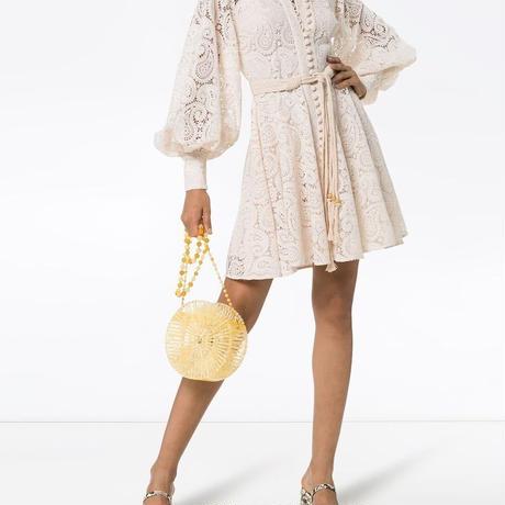 zimmermann ジマーマン Amari Paisley Lace Short Dress  ワンピース$750