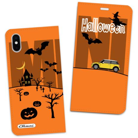 ハロウィーン限定 MY-MINI-Halloween 手帳型スマホケース