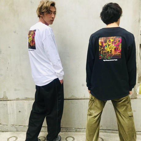 PASSION AND HUMOR ロンT/ホワイト