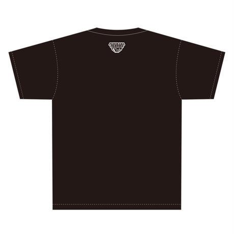 DIVE TO GALAXY Tシャツ/スミ