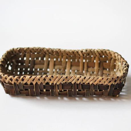 胡桃の置き籠(小) (クルミ/くるみ)  カトラリー 小物入れ オズのかごバッグ