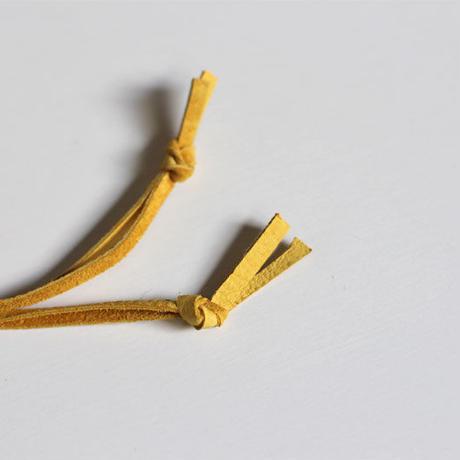 『会津木綿』ミニ巾着 (青緑) インナーは古布柿渋鉄媒染 oz and made
