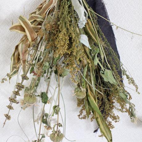 スワッグ   穀物リーフドライ  ozf-081