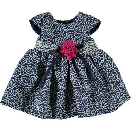 ブルーベビードレス(フラワー)   ブルマ付き   60cm