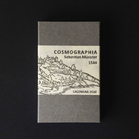 PAPYRUS 2020 Calendar  『COSMOGRAPHIA』 4月始まり版