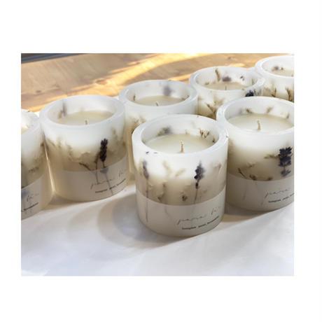 aroma&naturalwax candle