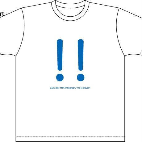 para-dice11周年記念T-shirt