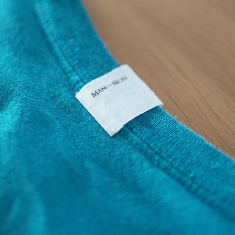 MAN-SION / Hand Worker Tshirts Royal Green