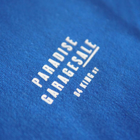 PARADISE GARAGESALE / Palm Hoodie Royal Blue