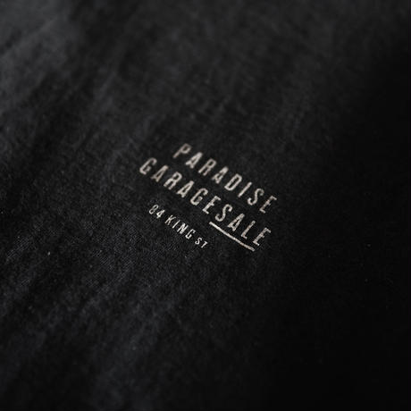 PARADISE GARAGESALE /  Reflector T-shirts Black