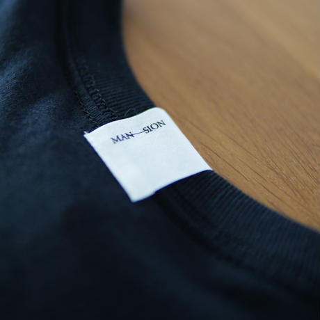 MAN-SION RECORDS / Logo T-shirts Black