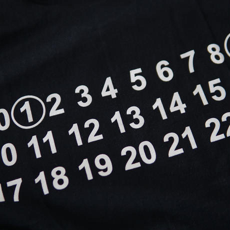 MAN-SION / 19 T-shirts Black