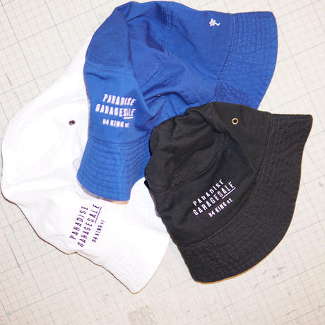 PARADISE GARAGESALE / Bucket Hat Black