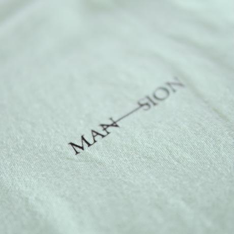 MAN-SION / M-S Tshirts Pastel Green