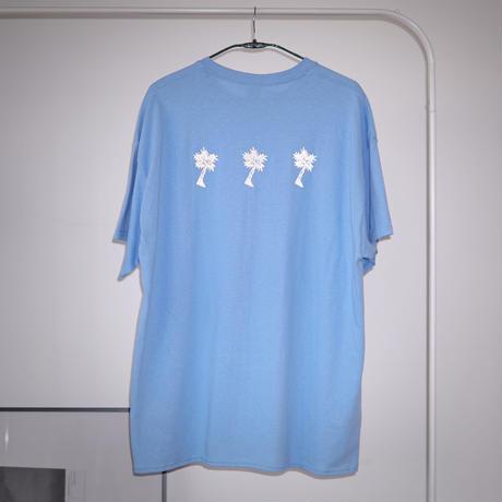 PARADISE GARAGESALE / Reflector T-shirts Carolina Blue