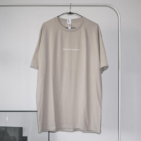 MAN-SION RECORDS / Logo T-sirts Beige