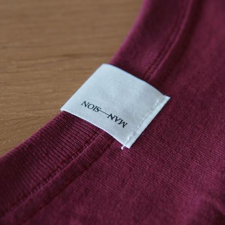 MAN-SION / Hand Worker Tshirts Maroon