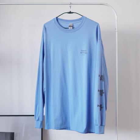 PARADISE GARAGESALE / Reflector L/S shirts  Carolina Blue