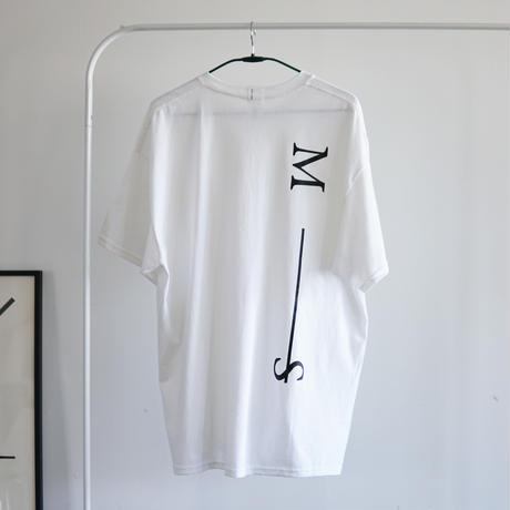 MAN-SION / M-S Tshirts White