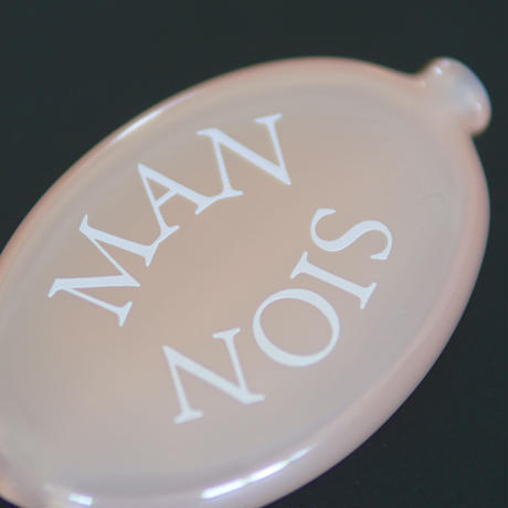 MAN-SION / Coin Case Clear Pink