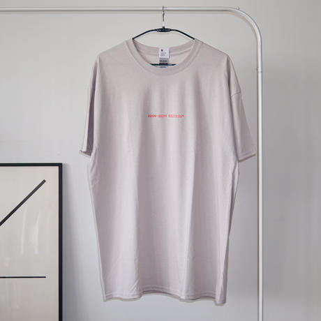 MAN-SION RECORDS / Logo T-sirts Ice Gray