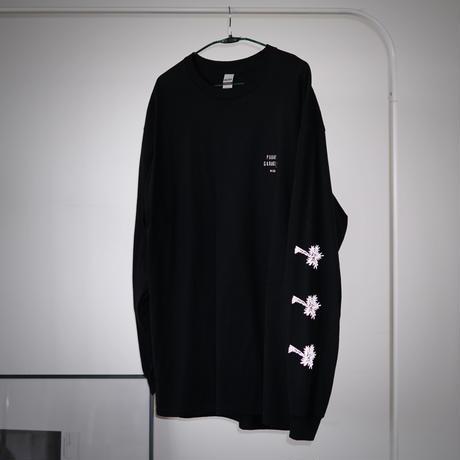 PARADISE GARAGESALE / Reflector L/S shirts Black