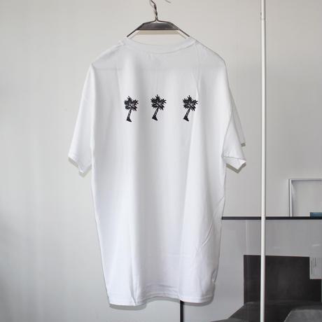 PARADISE GARAGESALE / Palm T-shirts White