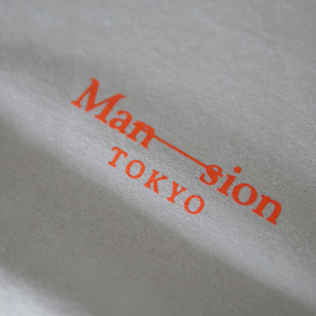 MAN-SION / 19 T-shirts Ice Gray