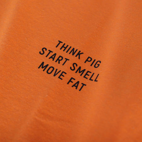 salt & peppers / THINK PIG T-shirts Neon Orange