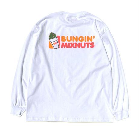 MIXNUTS / BUNGIN' MIXNUTS L/S TEE (2colors)