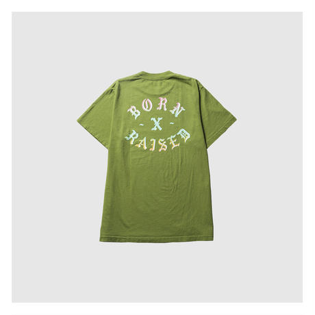 BORN X RAISED/ ROCKER T-SHIRT