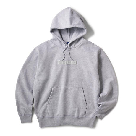 INTERBREED / Pile Patched Logo Hoodie (3colors)