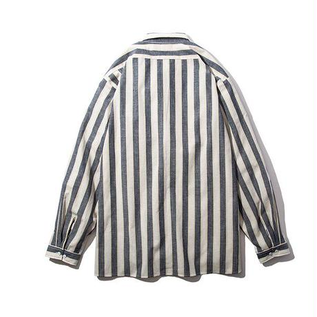 RULER / MULTI STRIPE LS SHIRT (2colors)