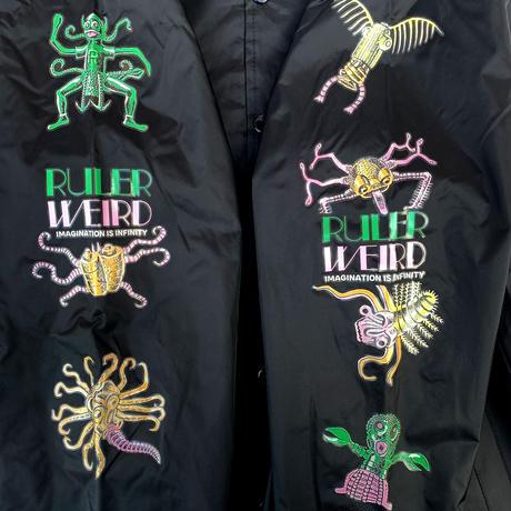 RULER / WEIRD COACH JACKET (2colors)