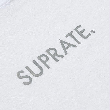 SUPRATE / REFLECTOR LOGO TEE (2colors)