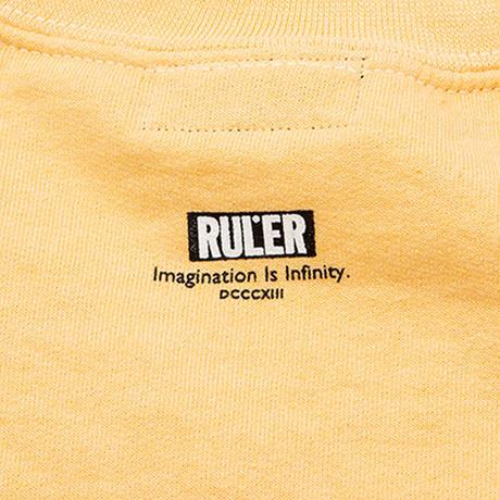 RULER / SLUGGER SWEATSHIRT (2colors)