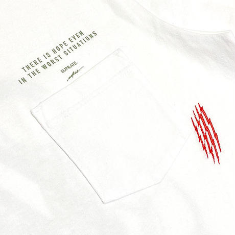 SUPRATE / WOK22 Collaboration Poket Tee (2colors)