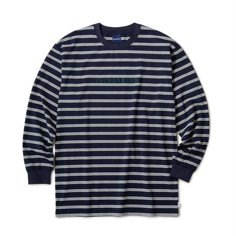 INTERBREED / Logo Border LS Tee (3colors)