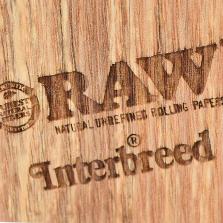 "INTERBREED / RAW × INTERBREED ""Chilling Wood Ashtray"""