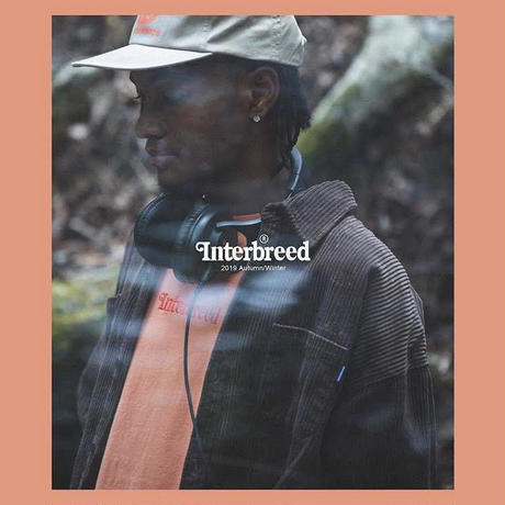 INTERBREED/ ARCHIVE LOGO PIGMENT LONG SLEEVE T-SHIRT