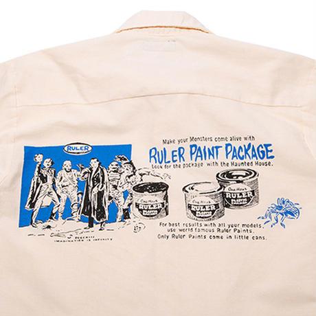 RULER / R.P.P. REDKAP WORK SHIRTS (3colors)