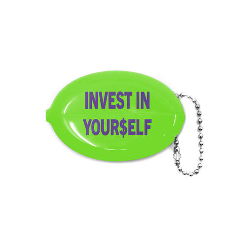 COLD WORLD FROZEN GOODS / Investment Squeezy Coin Pouch (2colors)
