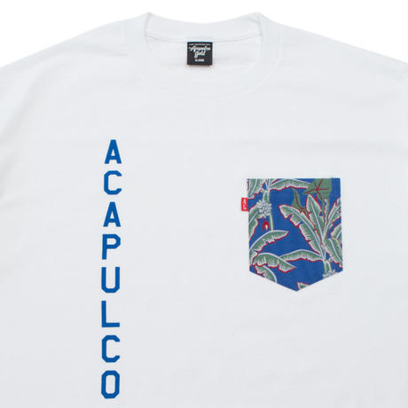 ACAPULCO GOLD / AG ARMY POCKET TEE (2colors)