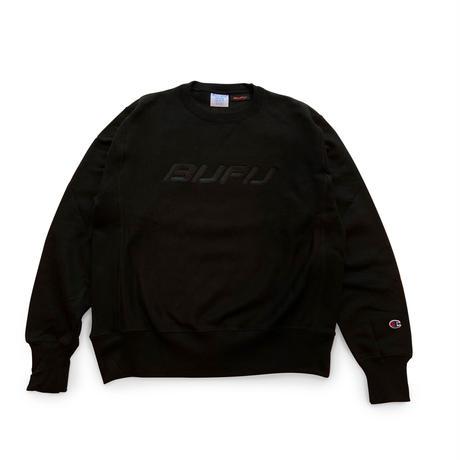 DUMMY YUMMY / BUFU BLACK CREWNECK